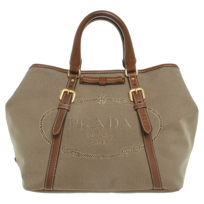 Prada Handbag in beige / brown