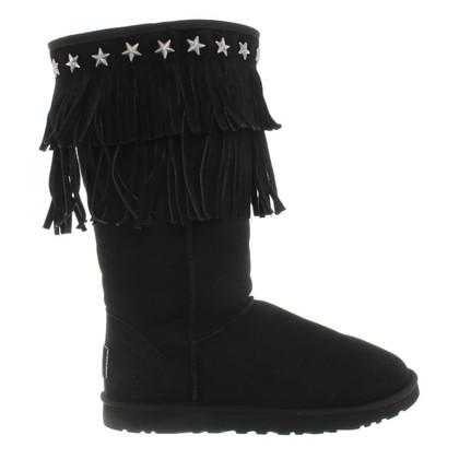 UGG & Jimmy Choo Boots in black