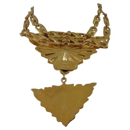 Emilio Pucci Emilio Pucci gold tone necklace