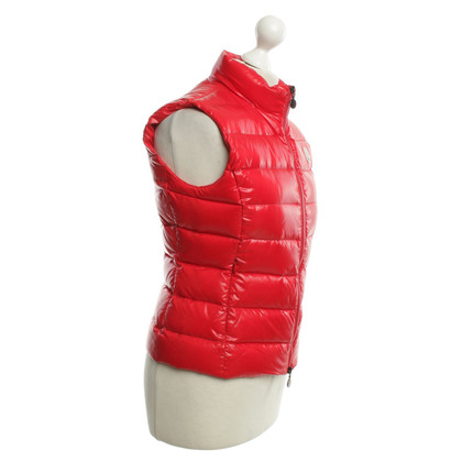 Moncler Down vest in red