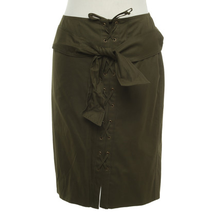 Yves Saint Laurent skirt with lacing