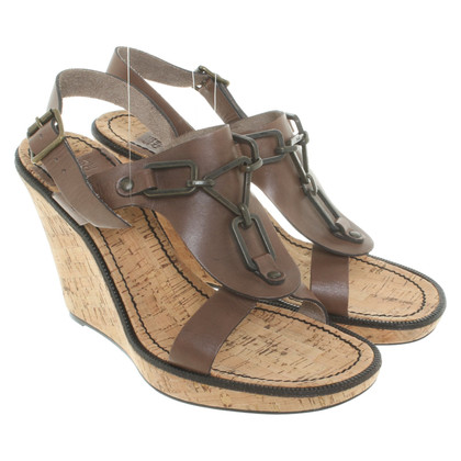 See by Chloé Sandals with wedge heel