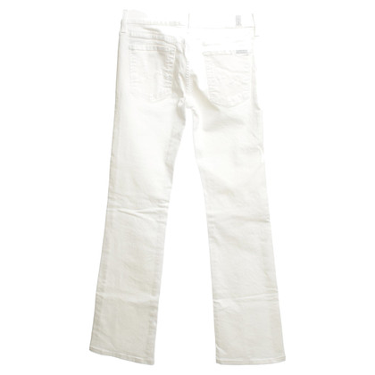 7 For All Mankind jeans Cream