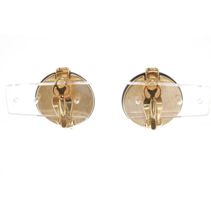 Givenchy orecchini clip con pietre preziose