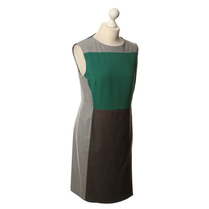 René Lezard Sheath dress in grey