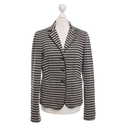 Blonde No8 Blazer beige / gray striped