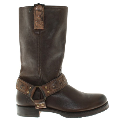 Frye Stivali in marrone scuro