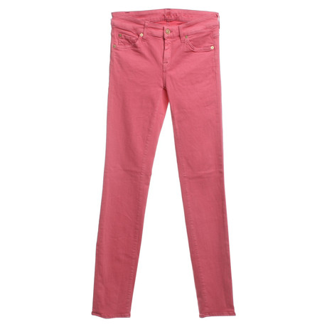 7 For All Mankind Hose in Rosa Rosa / Pink