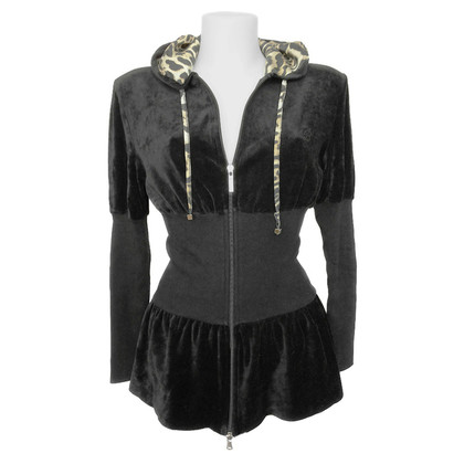 Blumarine Hooded Cardigan