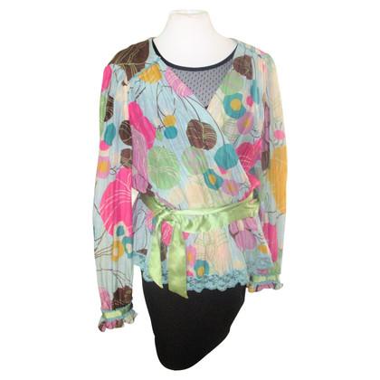 Dolce & Gabbana Blouse shirt in multicolor
