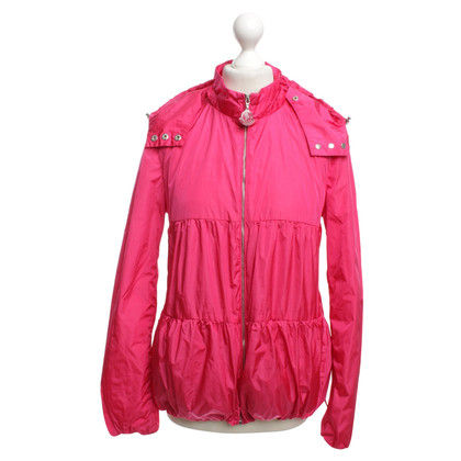 Moncler Thin rain jacket in pink
