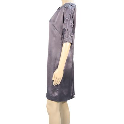 Reiss Silk dress in grey