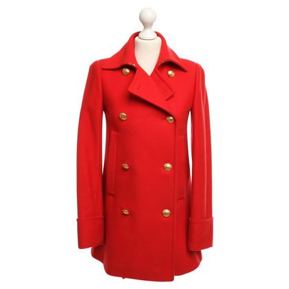 McQ Alexander McQueen Coat in red