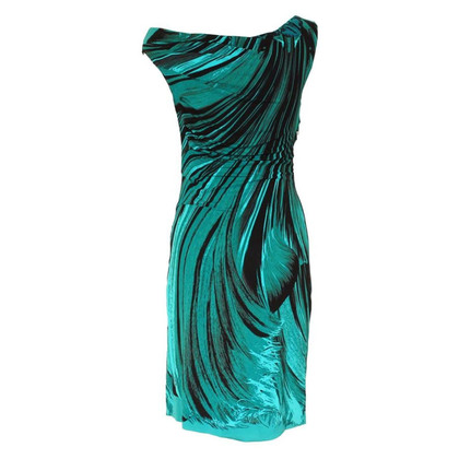Roberto Cavalli groene jurk