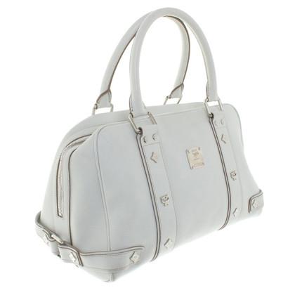 MCM Handtasche in Creme