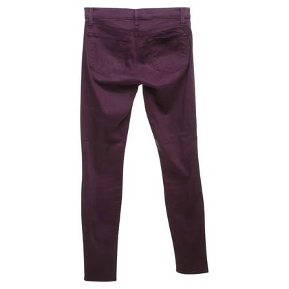 J Brand Jeans a Bordeaux