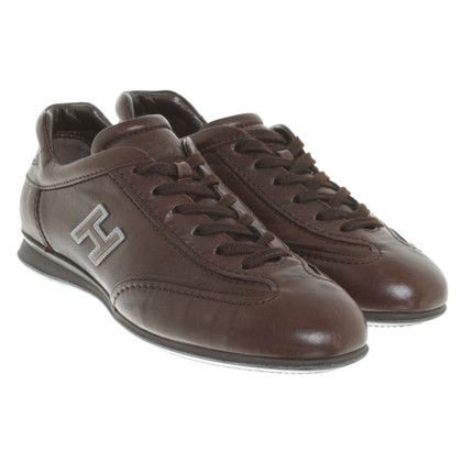 Hogan Lace-up shoes in dark brown