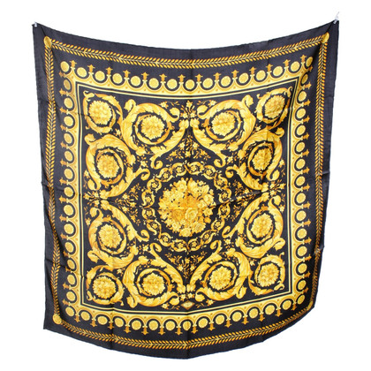 Gianni Versace Silk scarf with pattern
