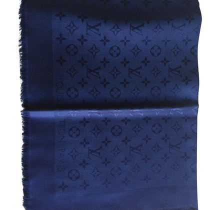 Louis Vuitton panno Monogram in blu scuro