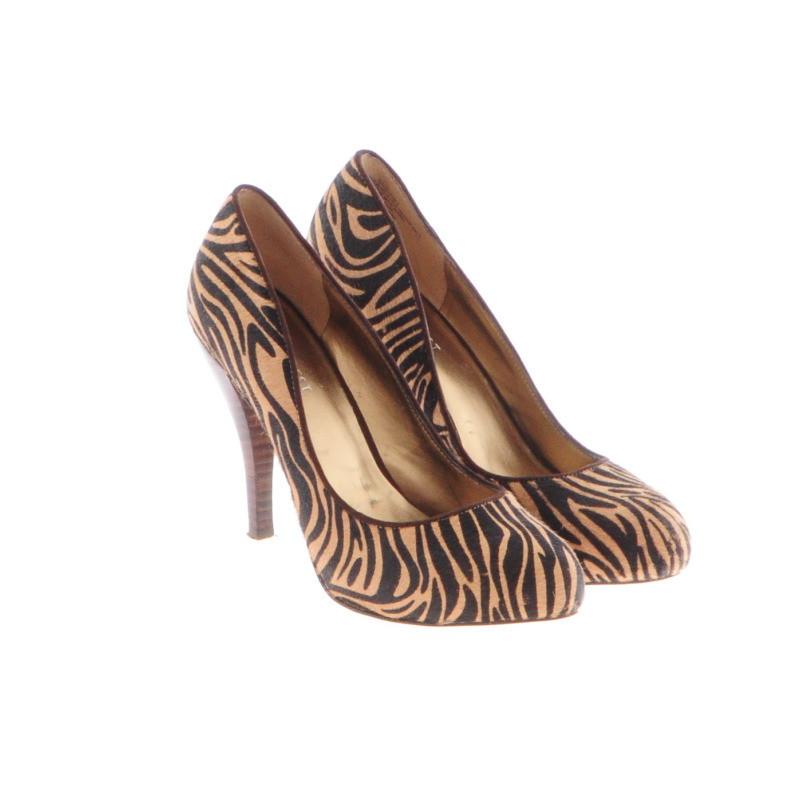 Nine West Tiger print shoes