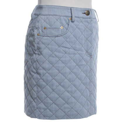 "Moschino ""Couture"" - Quilted skirt in blue"