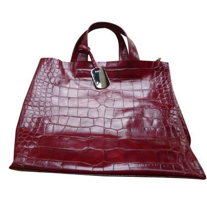 Furla Handtasche in Reptiloptik
