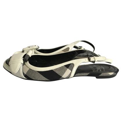 Burberry Flat Sandals.