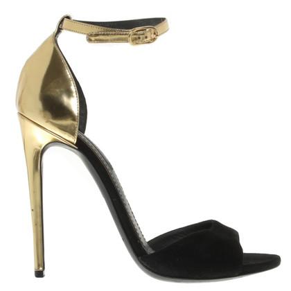 Dolce & Gabbana Sandales en noir