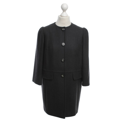 Dolce & Gabbana Wool coat in dark gray