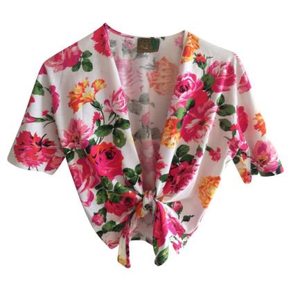 Kenzo Chemise vintage avec un motif floral