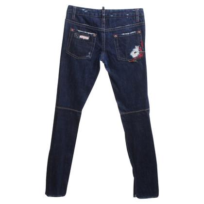 Dsquared2 Blauwe spijkerbroek