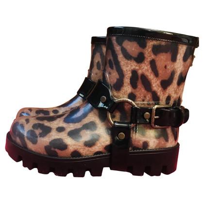Dolce & Gabbana Rain Boots con il modello