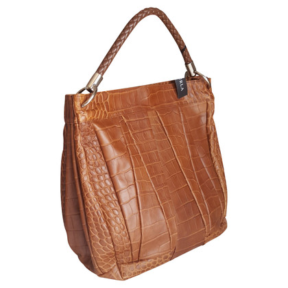 Furla Handbag in crocodile leather look
