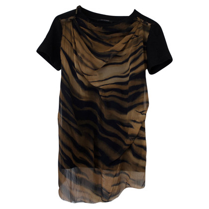 Plein Sud top with animal print