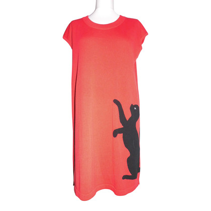 Moschino Love Dress with cat motif