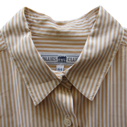 Max Mara Shirt blouse with stripes pattern