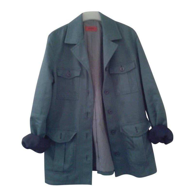 hugo boss short trench coat buy second hand hugo boss short trench coat for. Black Bedroom Furniture Sets. Home Design Ideas