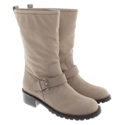 Giuseppe Zanotti Ankle boots in beige