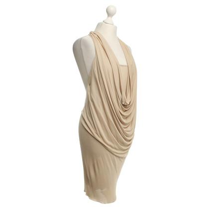 Patrizia Pepe Kleid in Beige
