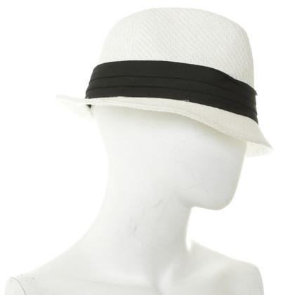 BCBG Max Azria Witte hoed