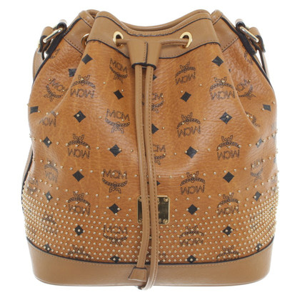 MCM Bag with label-print
