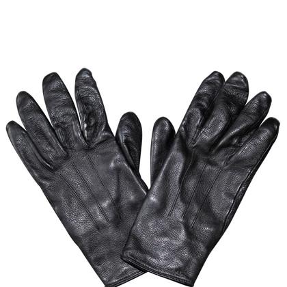 Burberry Schwarze Handschuhe