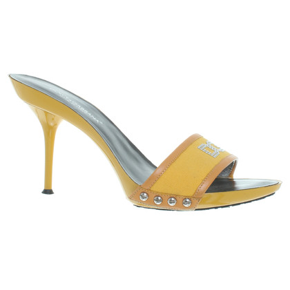 D&G Mules in yellow