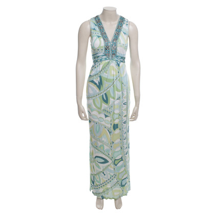 Emilio Pucci Maxi dress with pattern