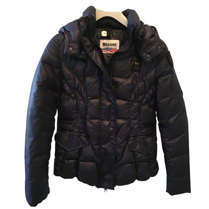 Blauer USA Down jacket (dark blue)