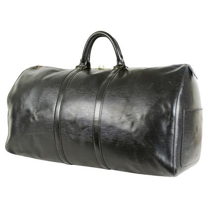 "Louis Vuitton ""Keepall 55 Epi leather"" in Black"