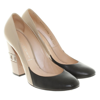 Casadei pumps in Nude