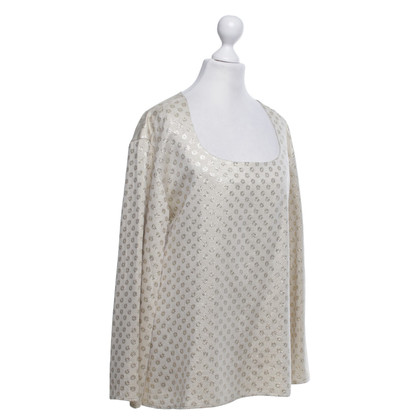 Christian Lacroix Blouse with gold effect yarn
