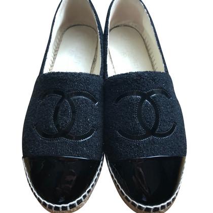 Chanel Black espadrilles