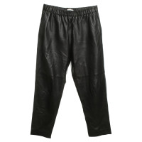 Iro Leather pants in black